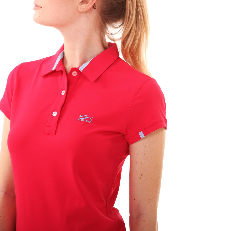 Tennis Polokleid Pink Damen Mädchen  Tennisbekleidung