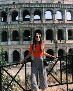 The Beautiful Colosseum Is The Perfect Backdrop In Rome
