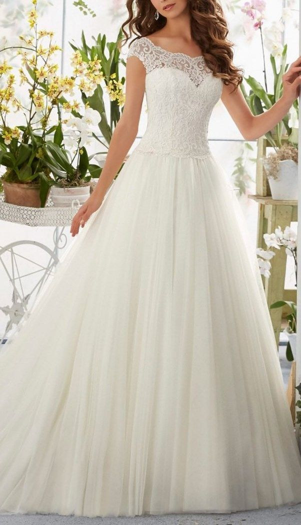 This Gorgeous Lace Beach Wedding Dress Provide An Elegant