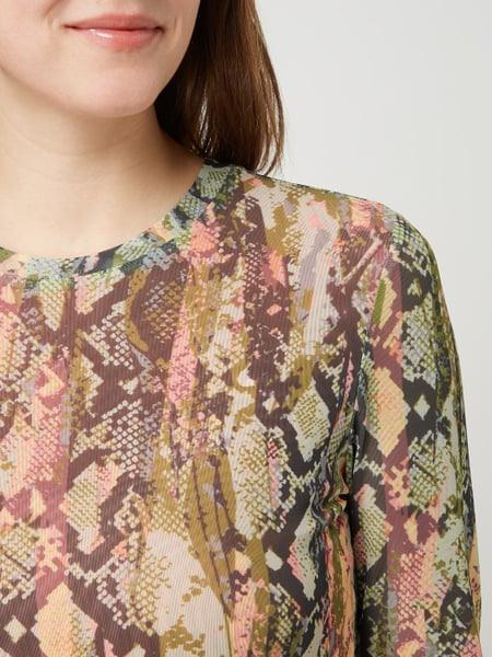 Tom Tailor Denim Kleid Aus Mesh In Weiß Online Kaufen
