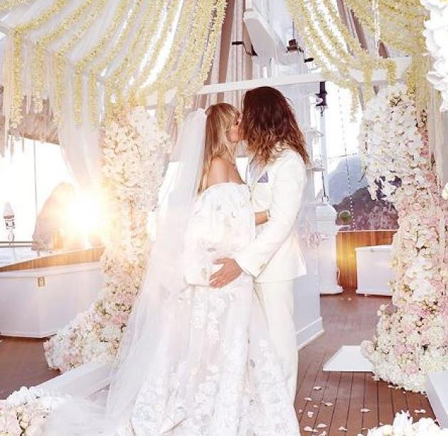 Tom Und Heidi Kaulitz Sollen 2 Hochzeit Planen  Da Papa
