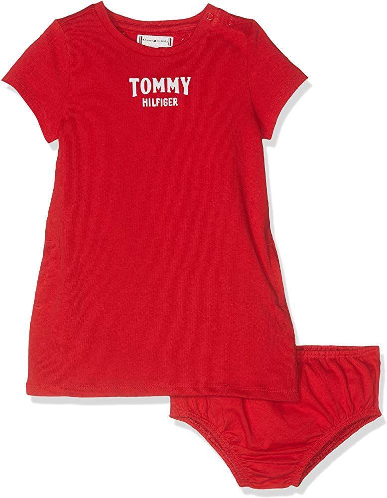Tommy Hilfiger Babymädchen Kleid Essential Polo Dress S/S