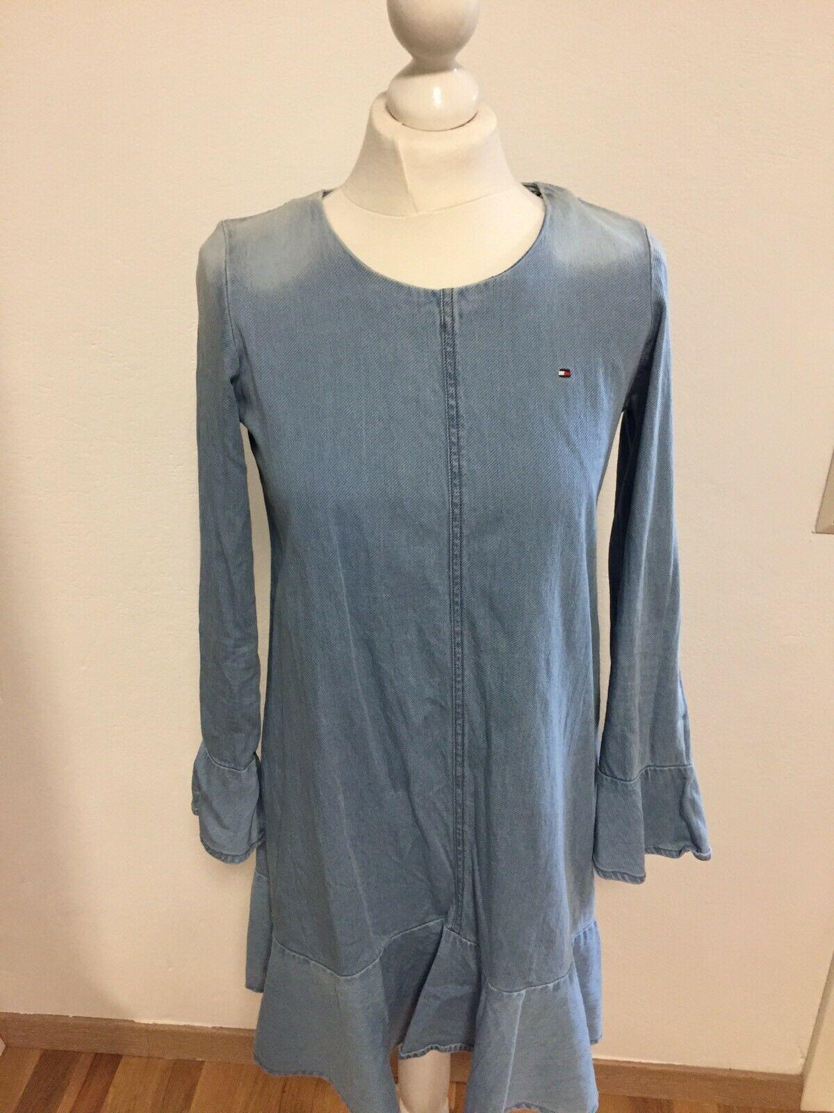 Tommy Hilfiger Denim Kleid Jeanskleid Gr Xs/S/ 164 Wie