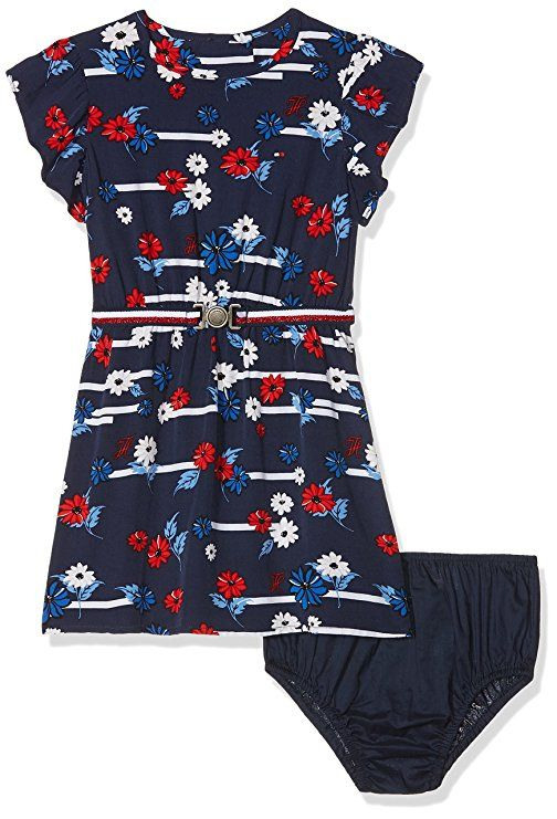 Tommy Hilfiger Mädchen Kleid Playful Flower Print Dress S