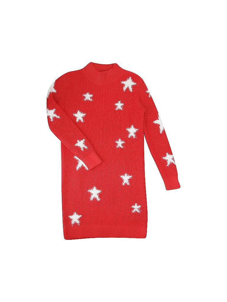 Tommy Hilfiger Mädchen Kleid Rot  140