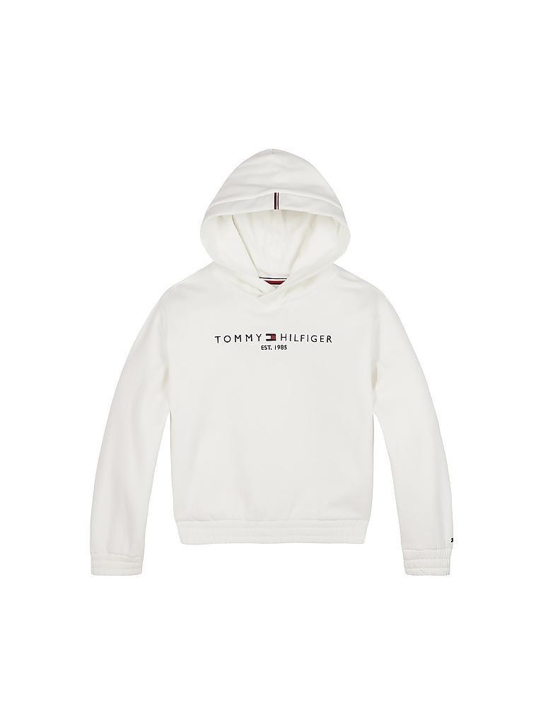 Tommy Hilfiger Mädchen Sweater Weiß  152