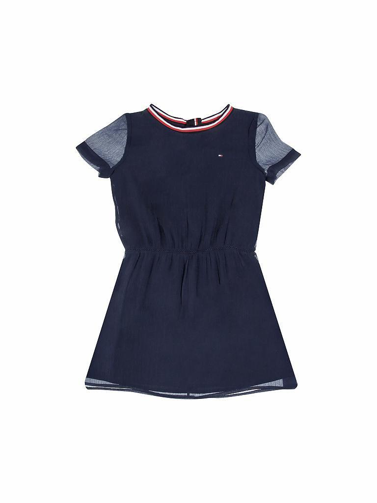 Tommy Hilfiger Mädchenkleid Blau  116