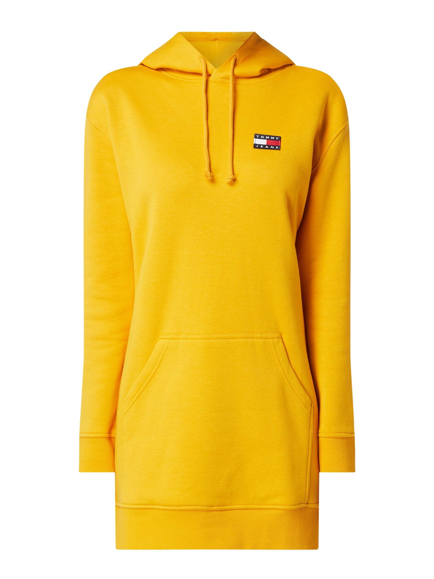 Tommy Jeans Sweatkleid Mit Kapuze In Gelb Online Kaufen