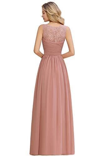 Top 10 Abendkleid Altrosa Lang  Abendkleider Für Damen