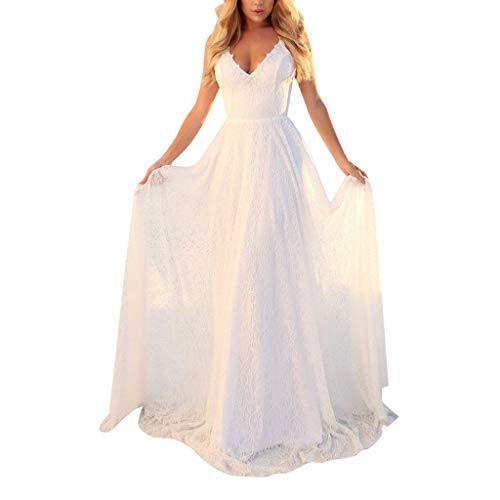 Top 9 Kleid Weiß Lang  Abendkleider Für Damen  Potibe