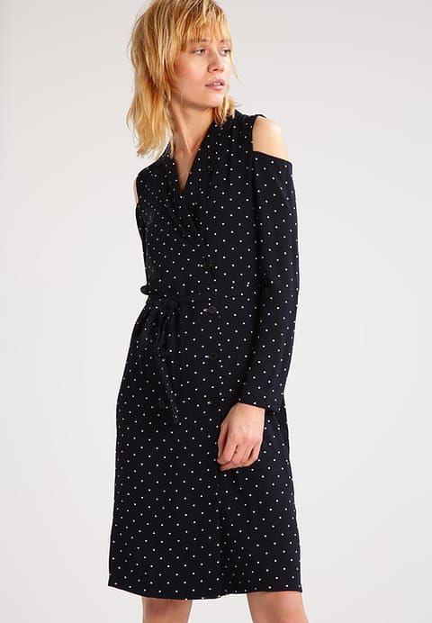 Topshop Spot  Sukienka Koszulowa  Navyblue Za 2023 Zł