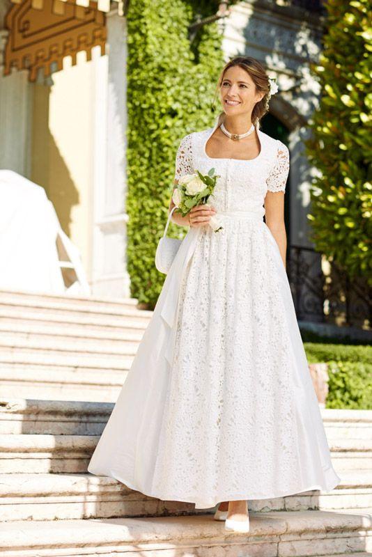 Trachtenhochzeit  Dirndl Hochzeit Hochzeitskleid Dirndl