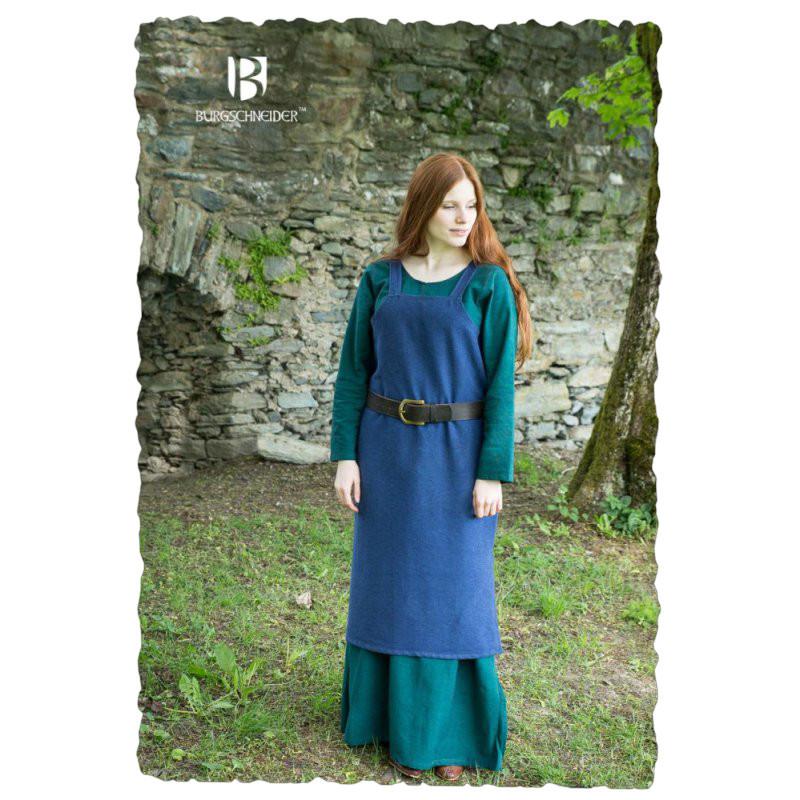 Trägerkleid Frida  Blau L  Zeughaus  Der Shop Für Larp
