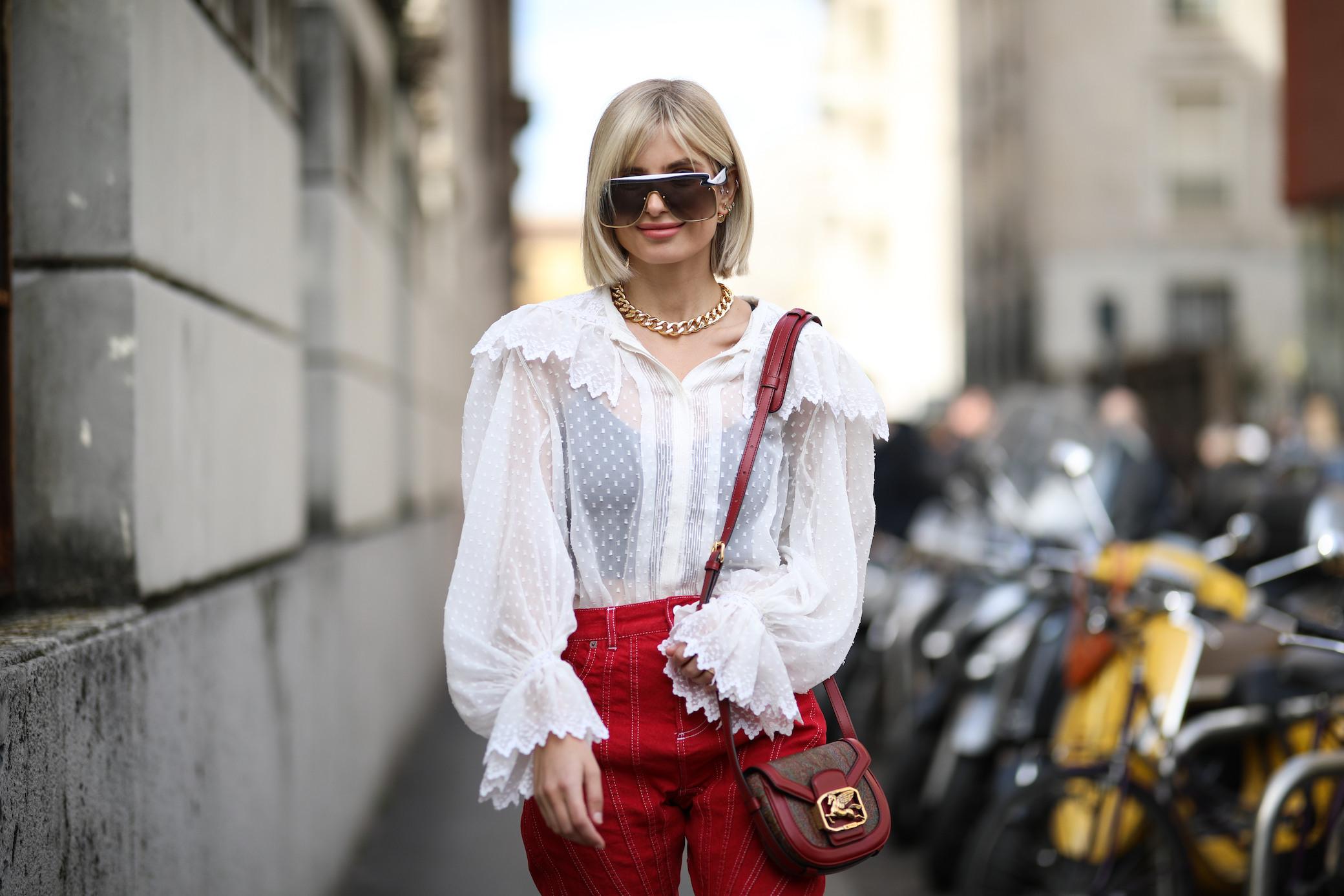 Transparente Kleidung Wie Trägt Man Durchsichtige Looks