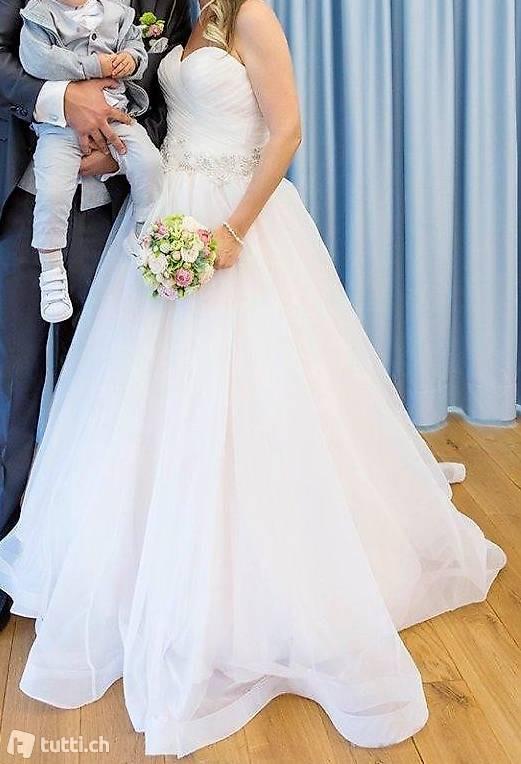 Traumhaftes Brautkleid/Hochzeitskleid Von Diane Legrand In