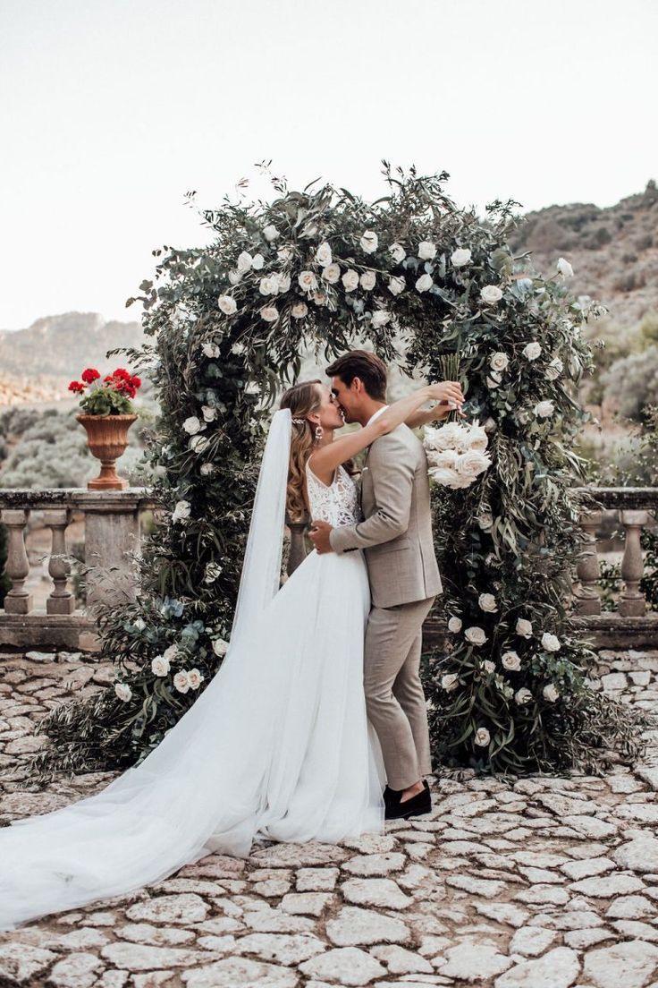 Traumhochzeit Auf Mallorca  Kleid Hochzeit