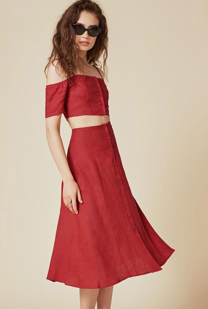 Trend Lady In Red  In Dieser Signalfarbe Wollen Wir