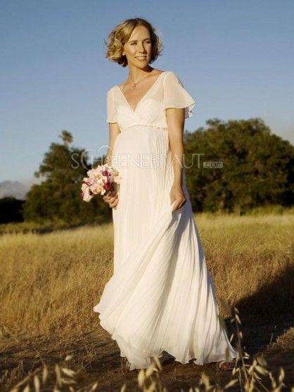 Triumph Mit Bildern  Chiffon Hochzeitskleid