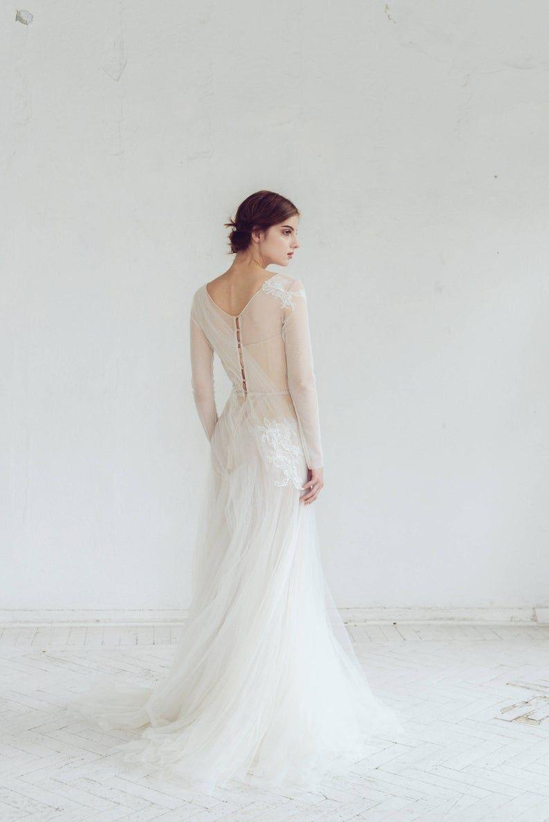 Tulle Hochzeitskleid//Phaeno/Lace Hochzeitskleid