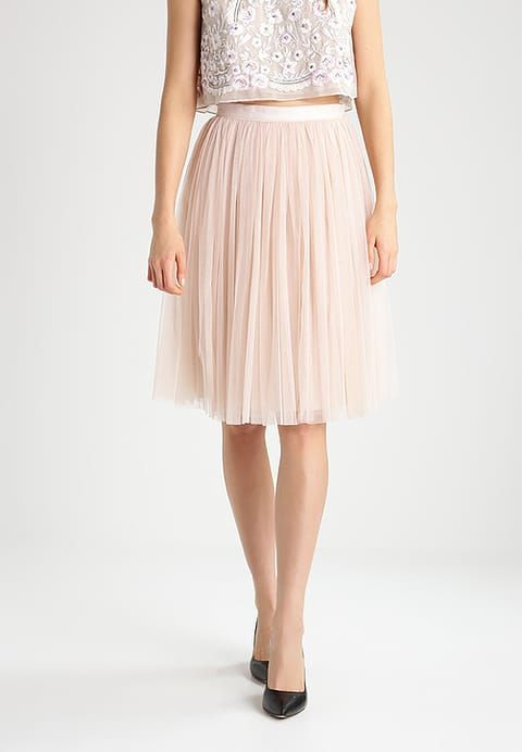 Tulle Midi Skirt  Alinienrock  Petal Pink  Zalandode
