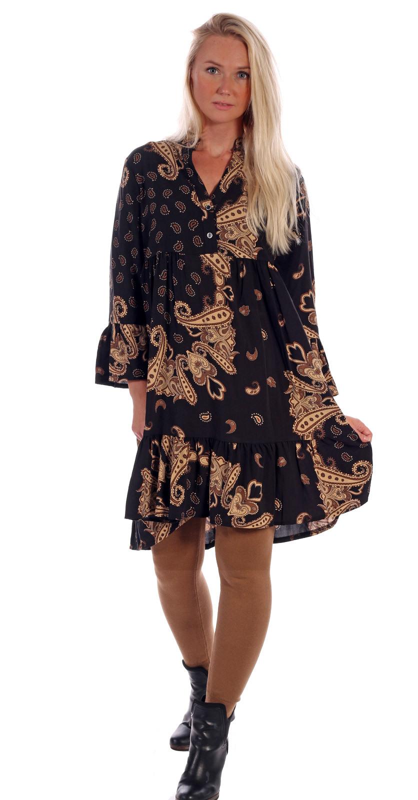 Tunika Kleid Im Schönen Paisley Design  Mode Aus Karlsruhe