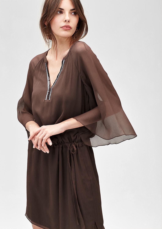 Tunikakleid Aus Seide Kaufen  Soliver Shop