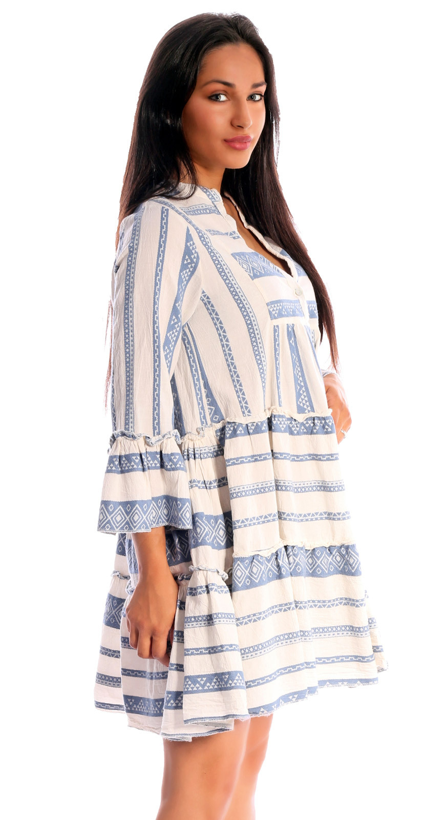 Tunikakleid Im Mediterranean Ethno Heritage Design  Mode