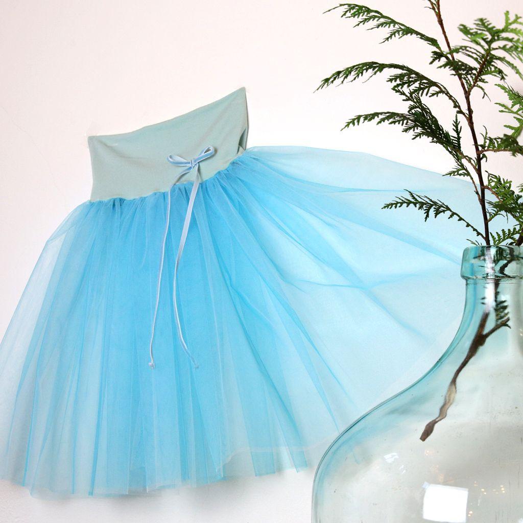 Türkis Tutu  Modestil Kinder Kleider Mode