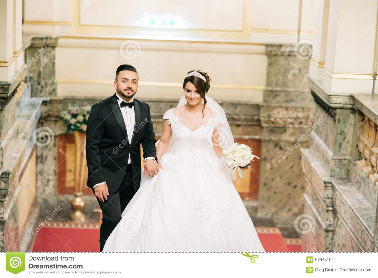 Türkische Hochzeit Stockfoto Bild Von Frisur Erwachsener