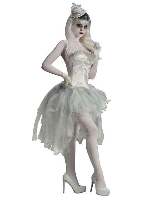 Tutu Fantôme Dame Blanche Halloween  Deguisetoi Achat