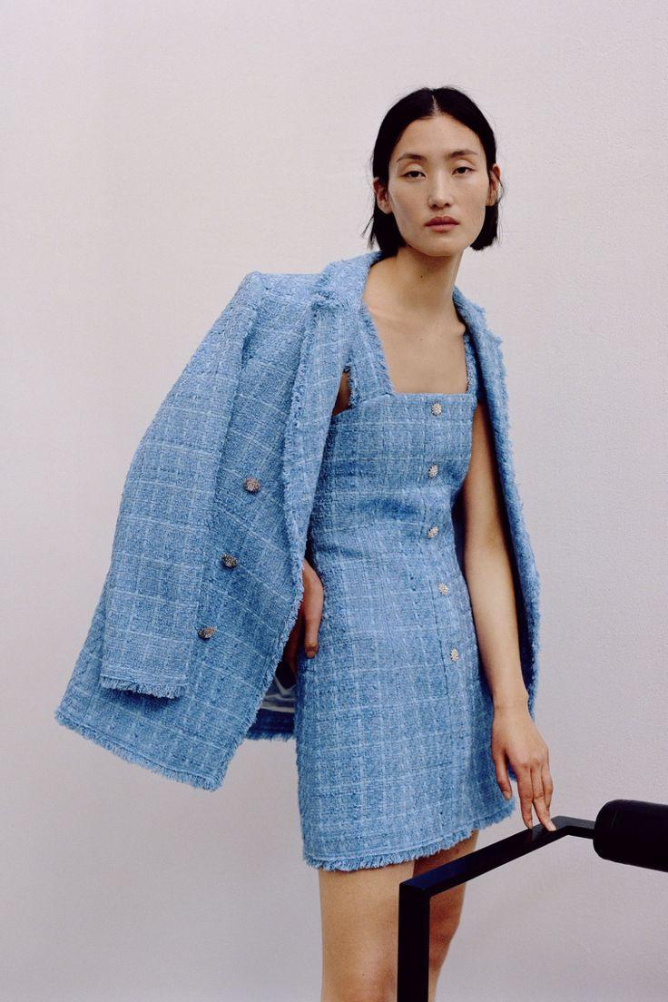 Tweed Blazer  Zara United Kingdom In 2020  Tweed