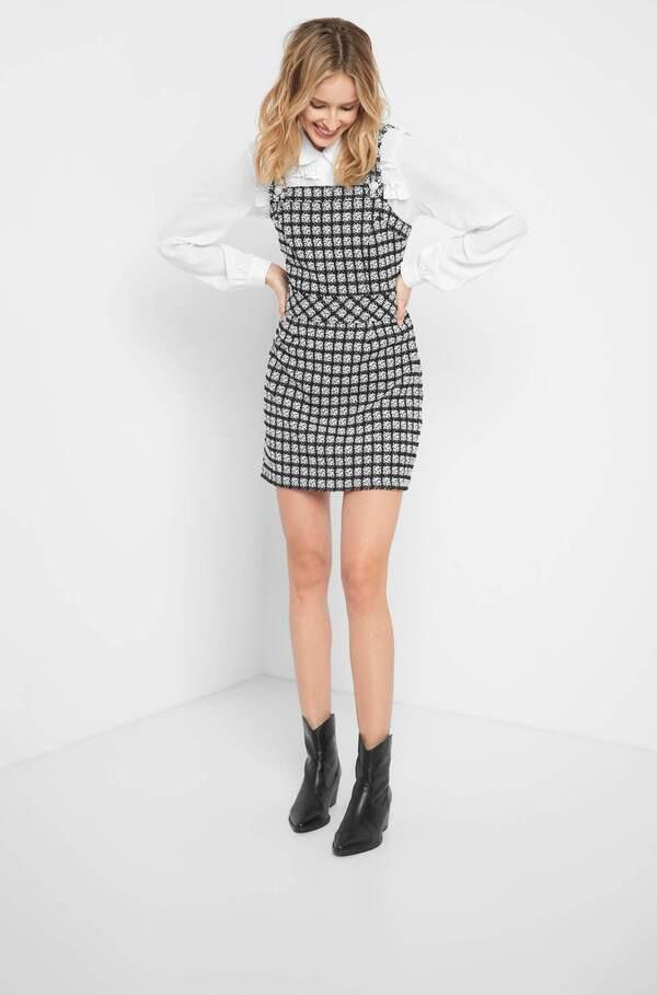 Tweedkleid Mit Knöpfen Von Orsay Für 2500 € Ansehen
