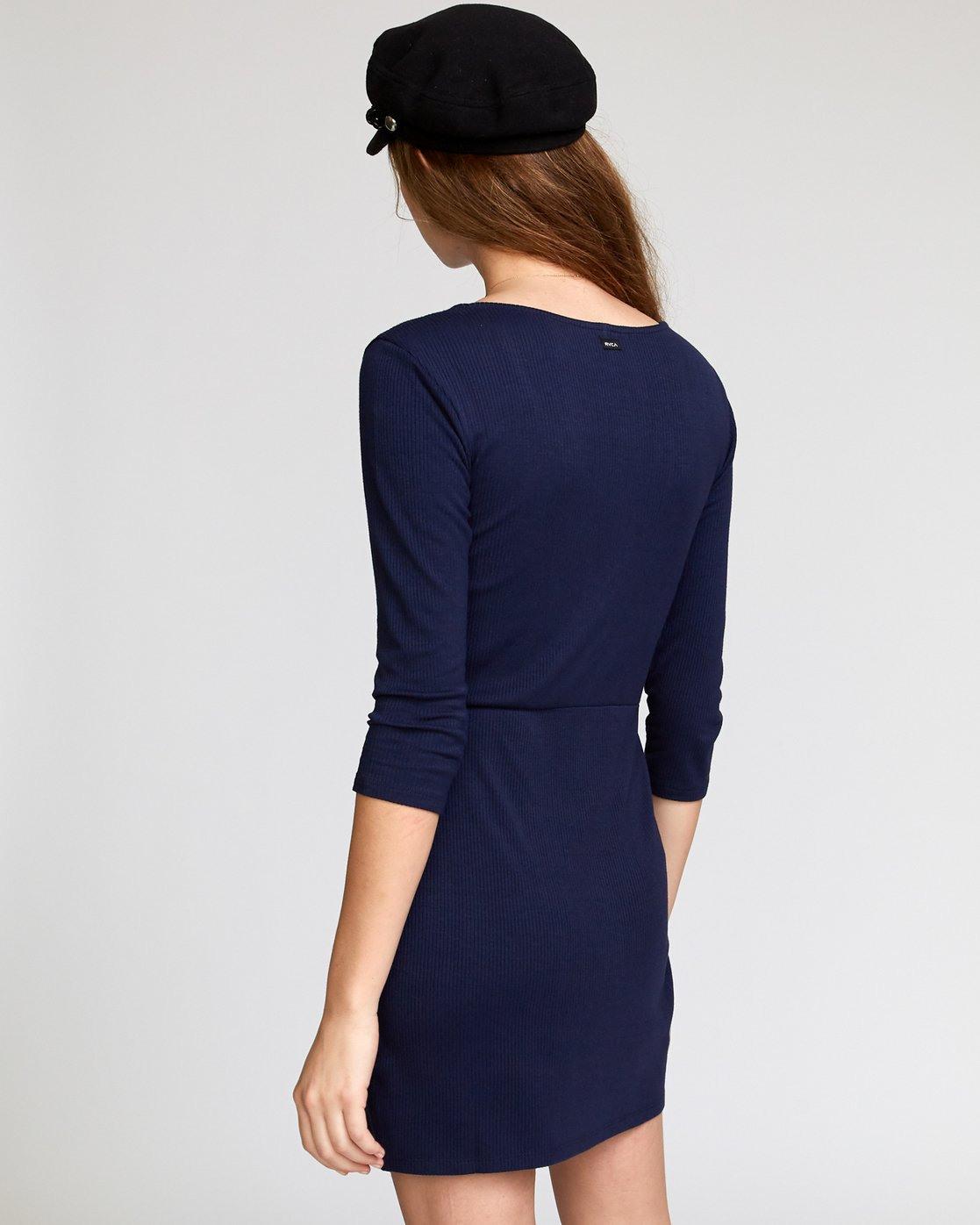 Twister  Geripptes Kleid Mit Langen Ärmeln Für Frauen