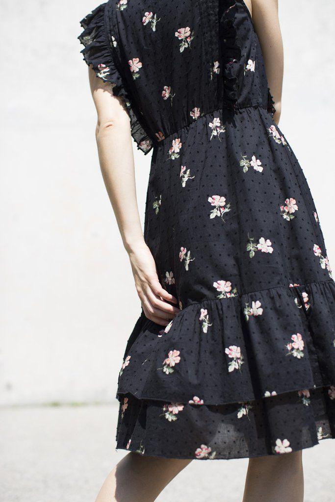 Ulla Johnson Estelle Dress In Flint Floral  Одежда