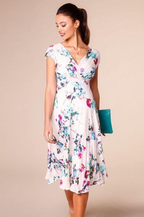 Umstands Und Stillkleid Painterly Floral  Umstandskleid