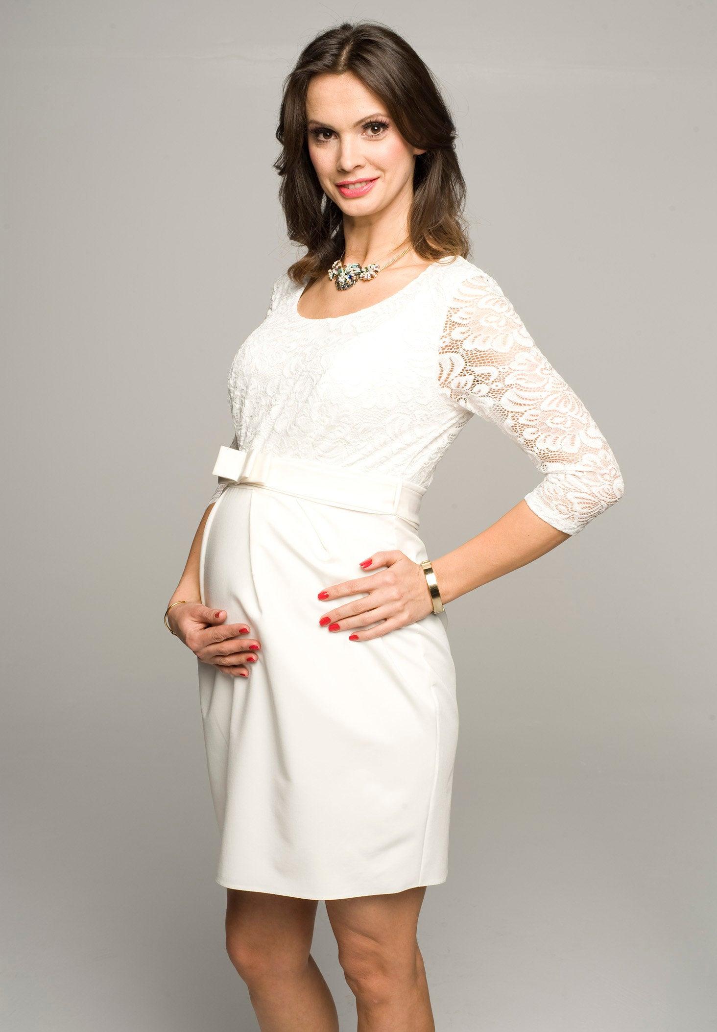 Umstandskleid Hochzeitskleid Umstandsmode Brautmode