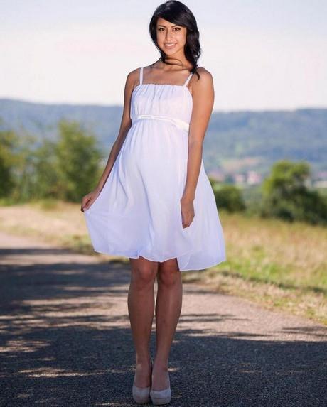 Umstandskleider Weiß