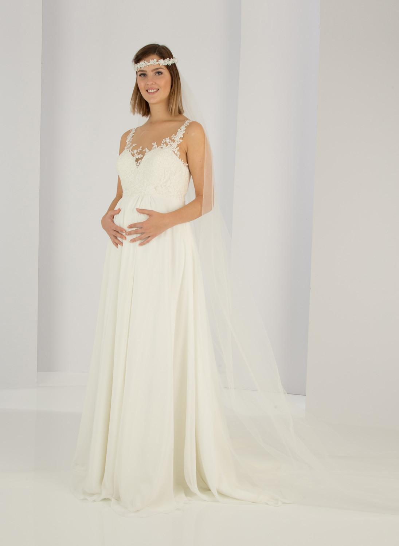 Umstandsmode Hochzeitskleid Standesamt  Hochzeittrauung