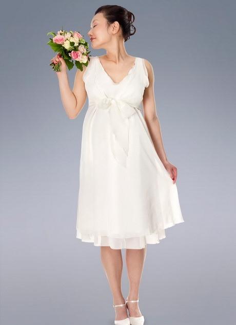 Umstandsmode Hochzeitskleid Standesamt