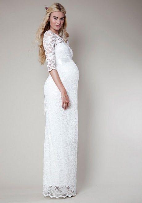 Umstandsmode Kleider Hochzeit  Hochzeit Kleid Standesamt