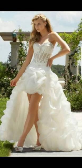 Ungetragenes Hochzeitskleid Wunder Schönes Ungetragenes