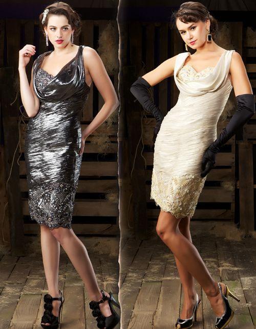 Unique Vintage  Couture Kleider Abschlussball Kleider