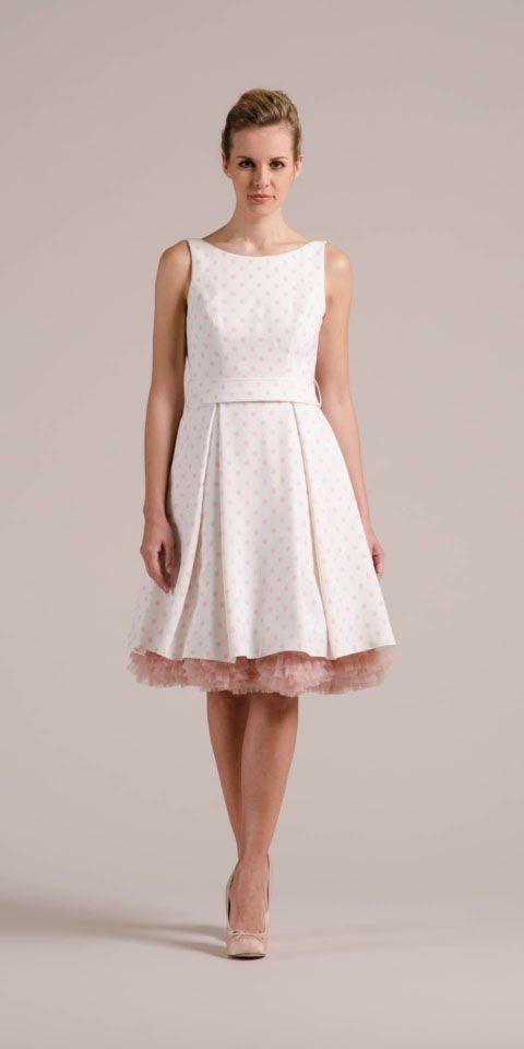 Unser Rockabilly Hochzeitskleid Setzt Neue Maßstäbe Rosa