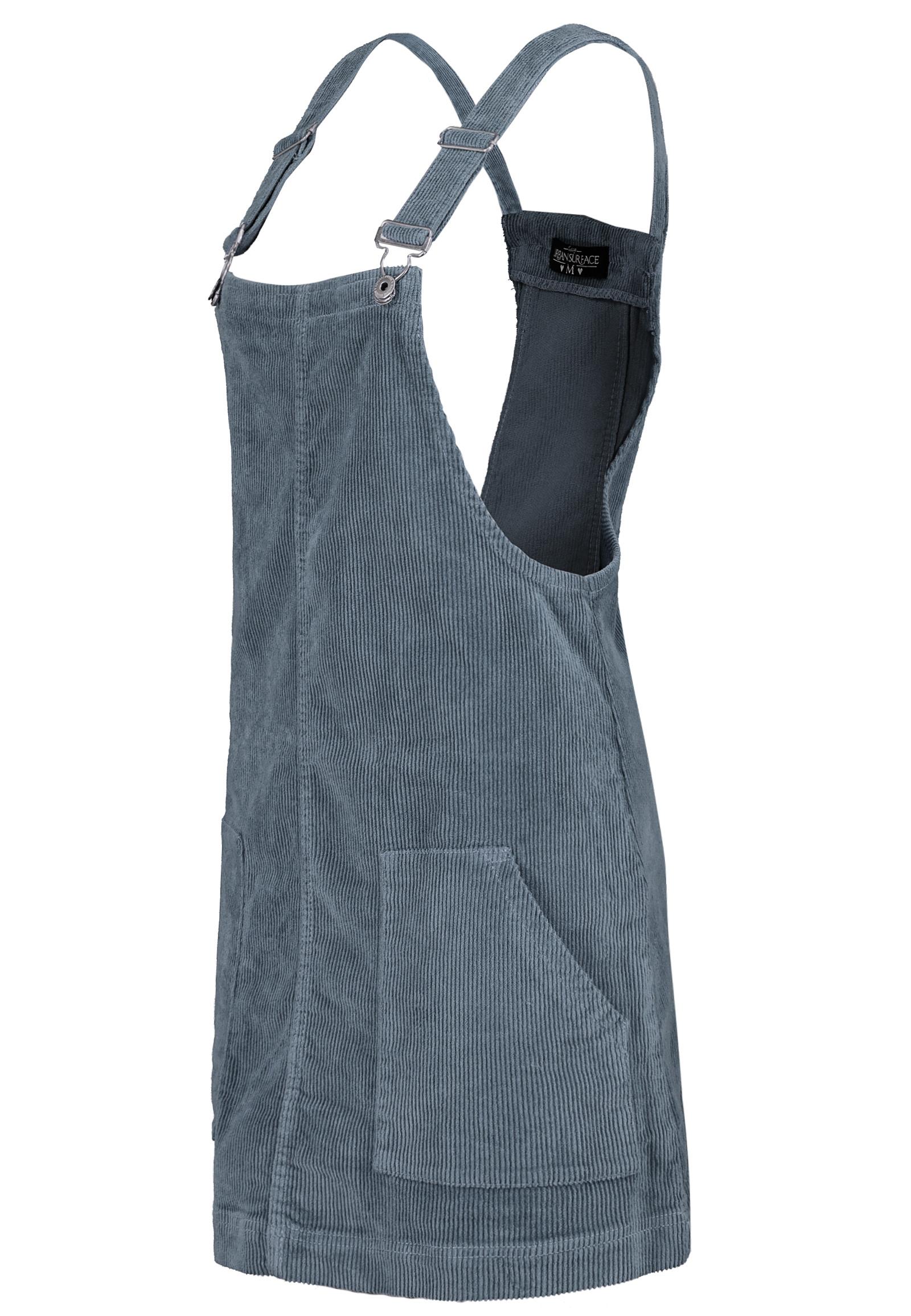Urban Surface Damen Latzkleid Aus Cord  Fashion5