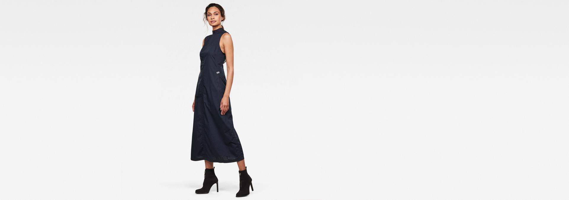 Utility Long Kleid  Mazarine Blue  Gstar Raw®