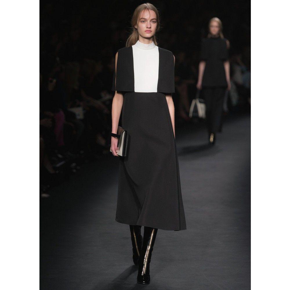 Valentino  Kleid Aus Wollcrêpe  Mytheresa Mit