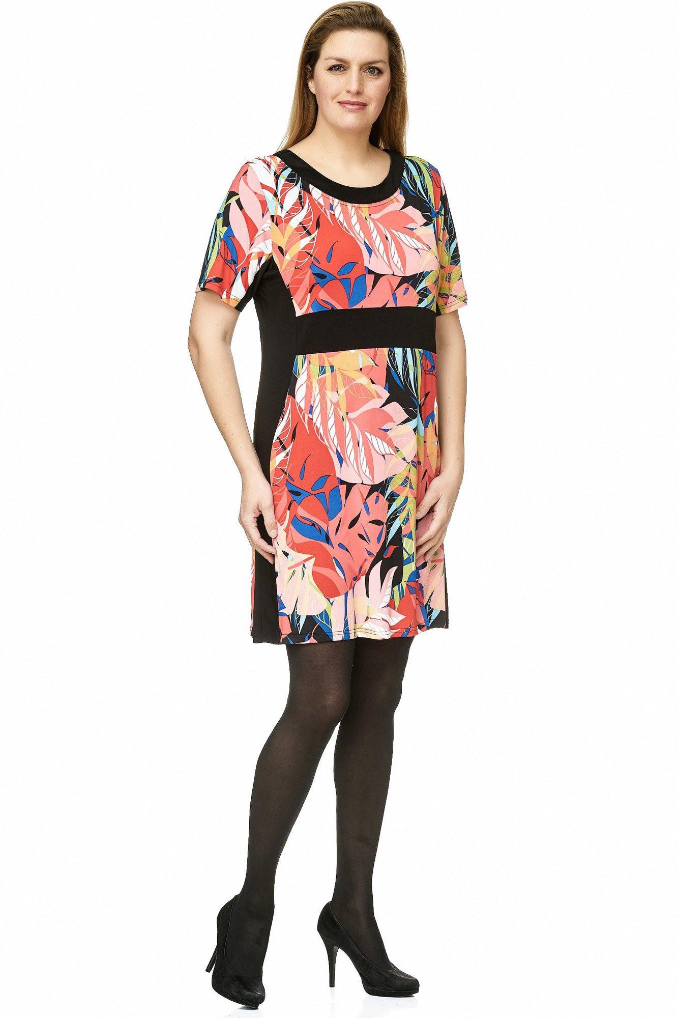Verlockendes Tunika Kleid Mit Karibik Print  Maltex24