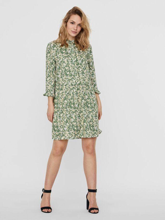 Vero Moda 3/4Ärmel Minikleid In 2020  Kleider Lässiges