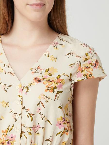 Vero Moda Blusenkleid Mit Floralem Muster Modell 'Kissey