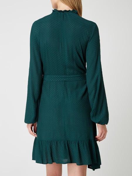 Vero Moda Copenhagen Kleid Mit Taillengürtel In Grün